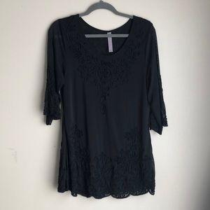 Pretty Angel Short Black Dress